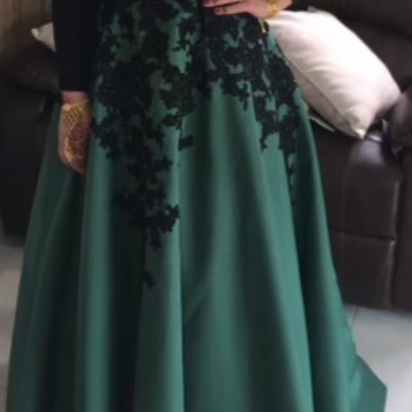 Beautiful formal gown, worn once!